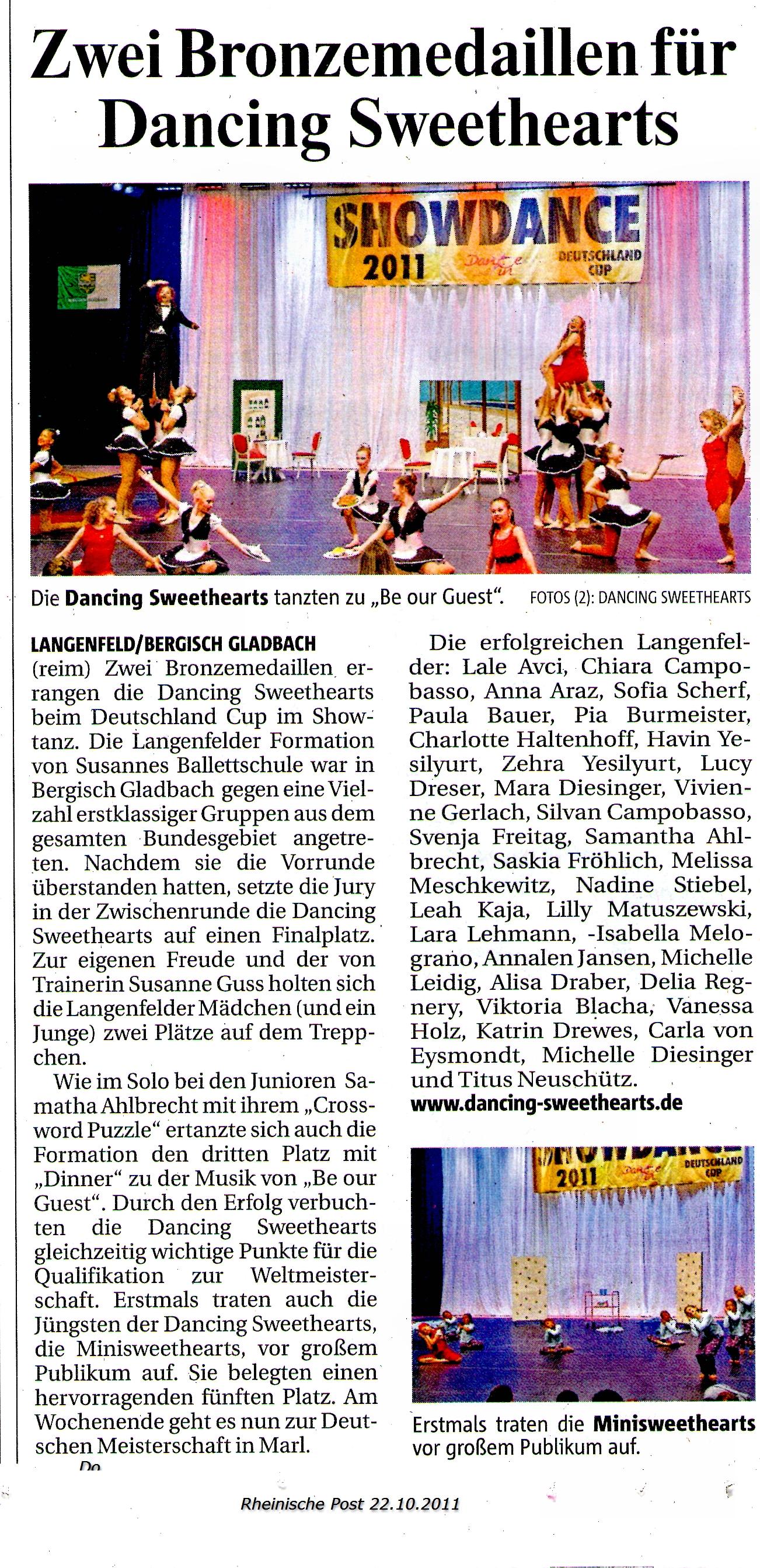 RP 22.10.11 Deutschland Cup