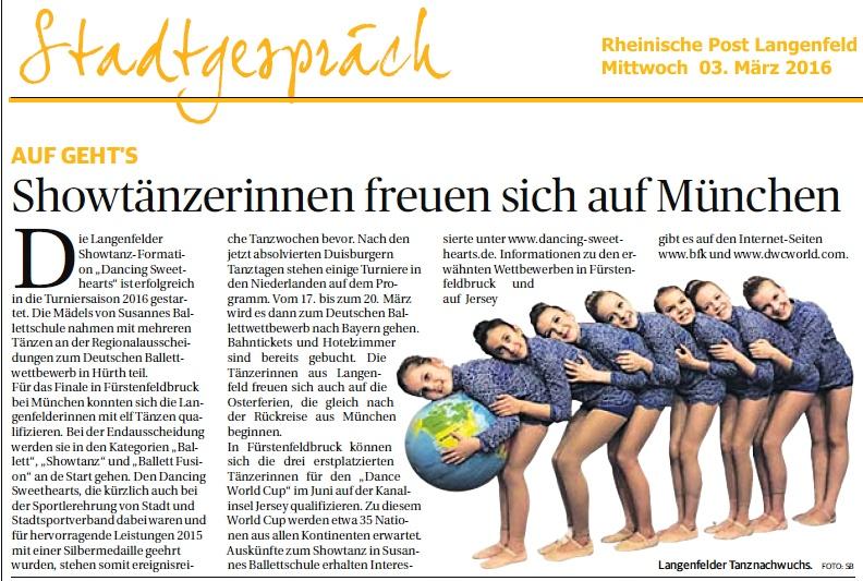 Rheinische Post 02.03.2016